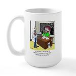 Theory of Relativity & The Tax Code Large Mug