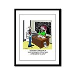 Theory of Relativity & The Tax Code Framed Panel P