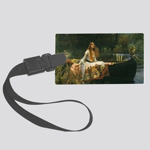 Lady of Shalott by JW Waterhouse Large Luggage Tag