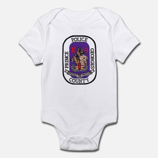 Prince Georges PD K9 Infant Bodysuit