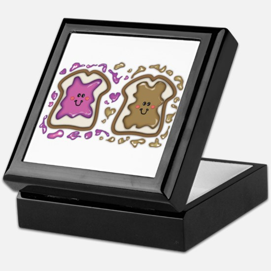 PBJ Sandwich Keepsake Box