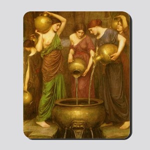 The Danaides by JW Waterhouse Mousepad