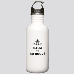 KEEP CALM AND GO ROGUE Water Bottle