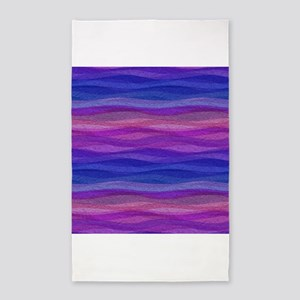 Mellow Waves 3x5 Area Rug