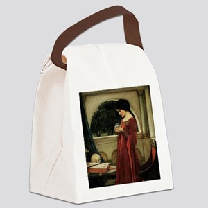 Crystal Ball by JW Waterhouse Canvas Lunch Bag