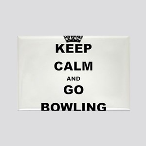 KEEP CALM AND GO BOWLING Magnets