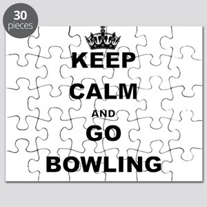 KEEP CALM AND GO BOWLING Puzzle