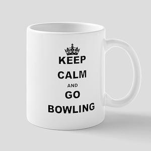 KEEP CALM AND GO BOWLING Mugs