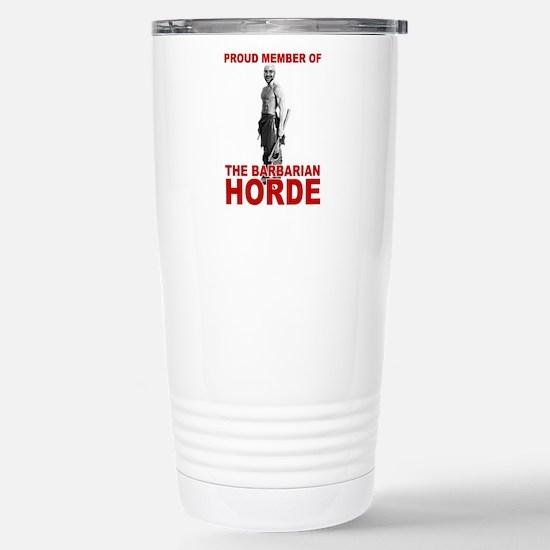 Barbarian Horde - Stainless Steel Travel Mug