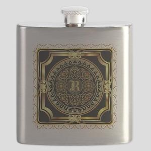 Monogram R Flask