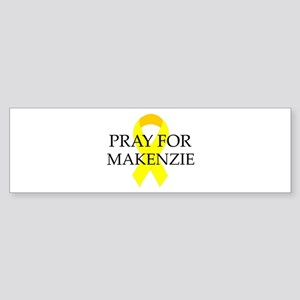 Pray for Makenzie Bumper Sticker