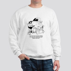 A Cow Testifies Sweatshirt