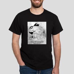 A Cow Testifies Dark T-Shirt