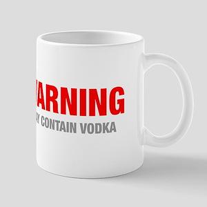 warning-VODKA-HEL-RED-GRAY Mugs