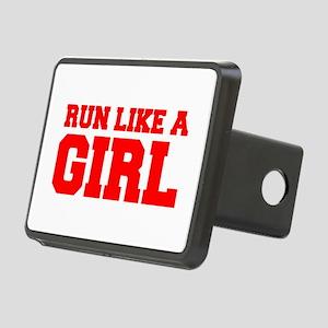 RUN-LIKE-A-GIRL-FRESH-RED Hitch Cover