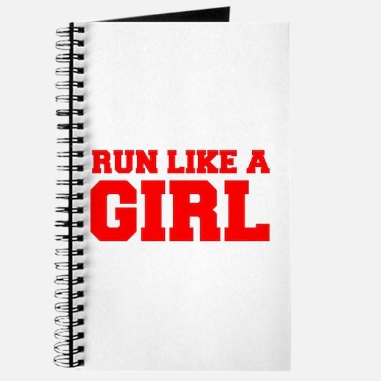 RUN-LIKE-A-GIRL-FRESH-RED Journal