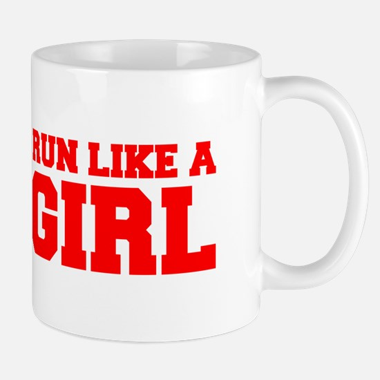 RUN-LIKE-A-GIRL-FRESH-RED Mugs