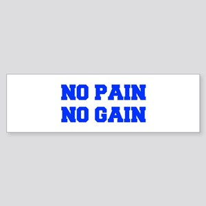 NO-PAIN-FRESH-BLUE Bumper Sticker