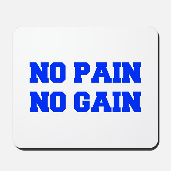 NO-PAIN-FRESH-BLUE Mousepad