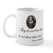 Shakespeare Love Quote Mug