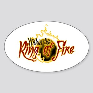 Within the Ring of Fire - Logo Sticker