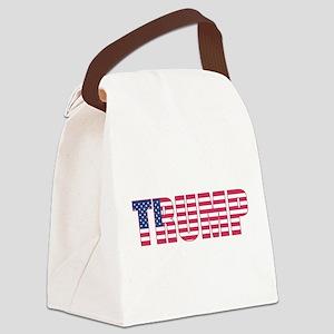 President Donald Trump Canvas Lunch Bag
