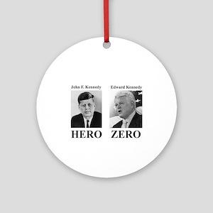 Hero - Zero Ornament (Round)