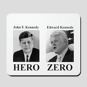 Hero - Zero Mousepad