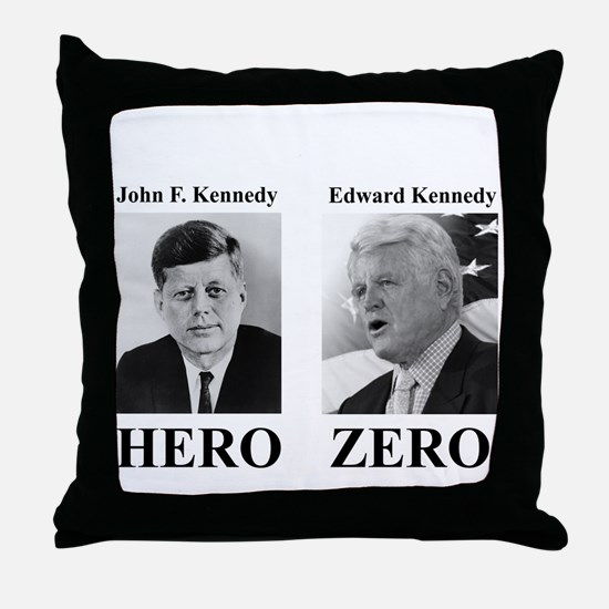 Hero - Zero Throw Pillow