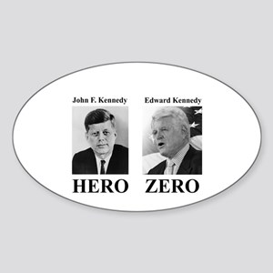 Hero - Zero Oval Sticker