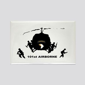 101st airborne Rectangle Magnet (10 pack)