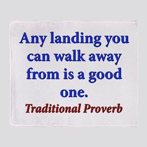 Any Landing You Can Walk Away From - Traditional T