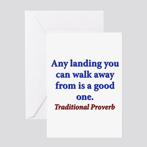 Any Landing You Can Walk Away From - Traditional G