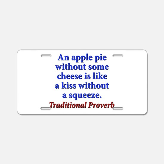 An Apple Pie Without Some Cheese - Traditional Alu