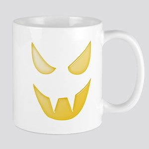 Halloween Pumpkin Face 9 Mugs