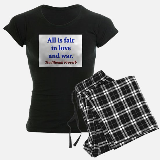 All Is Fair - Traditional Pajamas