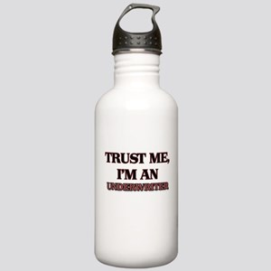 Trust Me, I'm an Underwriter Water Bottle