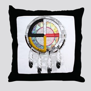 Southwest Misc Throw Pillow