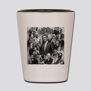Great Black Leaders Shot Glass