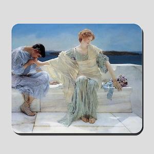 Alma Tadema Ask Me No More Mousepad