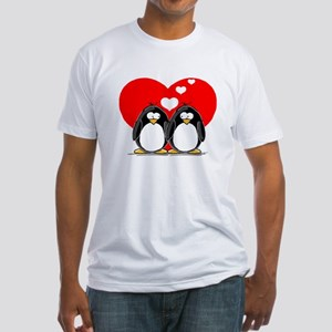 Loving Couple Fitted T-Shirt