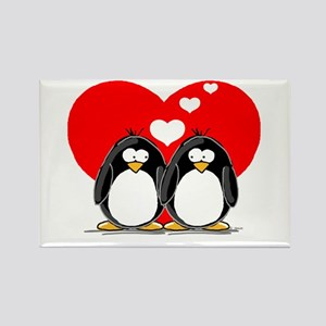 Loving Couple Rectangle Magnet