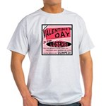 Valentine's Day for Losers Ash Grey T-Shirt