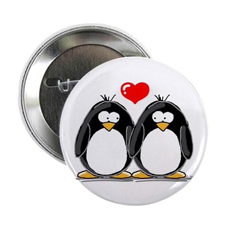 "Love Penguins 2.25"" Button (100 pack)"