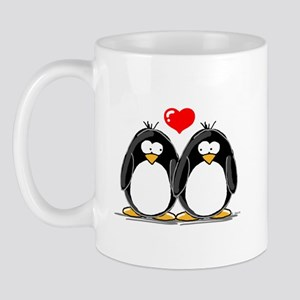 Love Penguins Mug