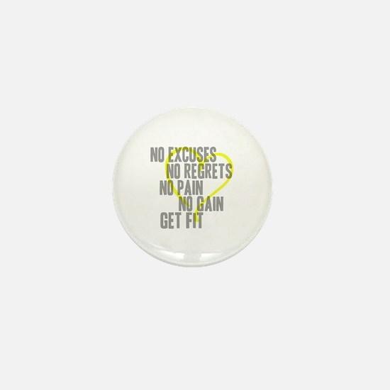 Heart Quotes Mini Button