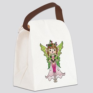 Fairy with Pink outfit Canvas Lunch Bag