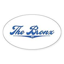 The Bronx, NY Oval Sticker