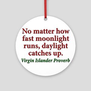 No Matter How Fast Moonlight Runs - Virgin Islande