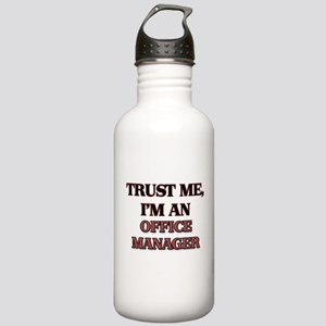 Trust Me, I'm an Office Manager Water Bottle